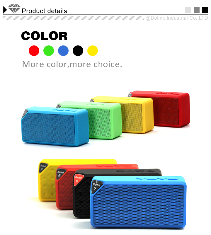 Portable Mini Wireless Bluetooth Speaker Built-in Microphone