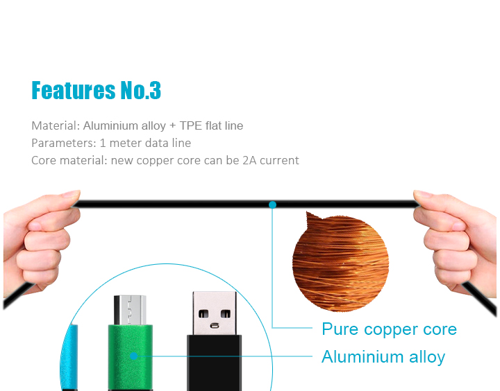 Charging Cable 4 in 1 cable Multifunctional Universal USB Charger Cable for Iphone