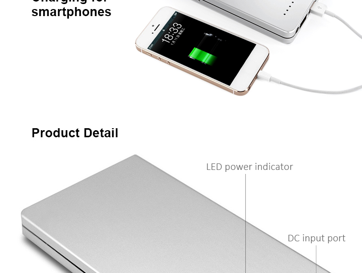 External Battery Pack 30000mAh Capacity Universal Charger Laptop Power Bank